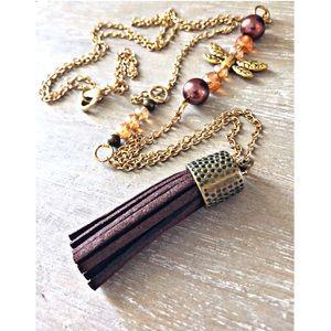 Golden Hollows Necklace